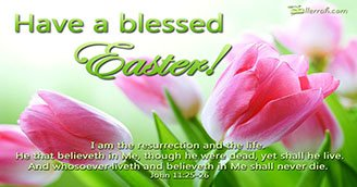 Have a Blessed Easter